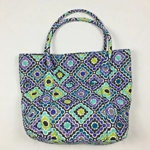 PB Teen Quilted Tote Pottery Barn Large
